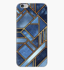 Blaue Stadt iPhone-Hülle & Cover