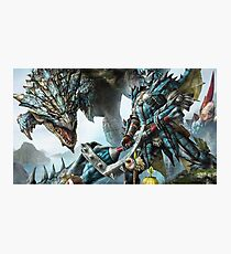 Monster hunter Photographic Print