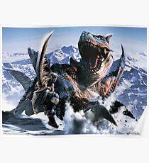 Monster Hunter 3D Poster