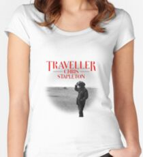 Traveller Chris Stapleton Traveller  Women's Fitted Scoop T-Shirt