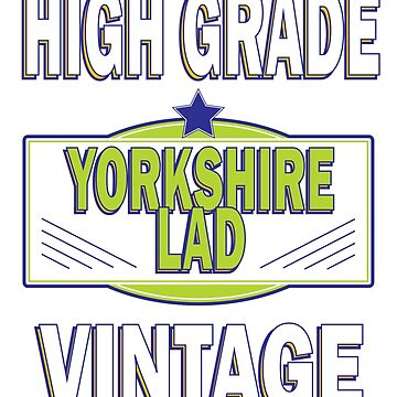 Yorkshire Lad - Vintage by Jayrosenthall