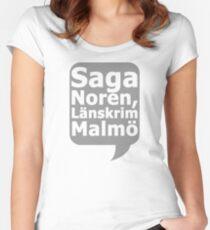 Saga Norén, Länskrim Malmö Fitted Scoop T-Shirt