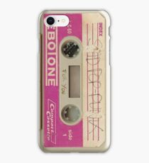 Sad Pop Punk Cassette iPhone Case/Skin