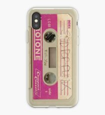 Sad Pop Punk Cassette iPhone Case