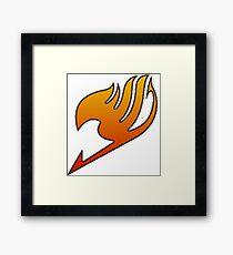Fairy Tail Guild Emblem Framed Print