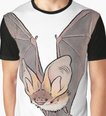 Grey long-eared bat Graphic T-Shirt