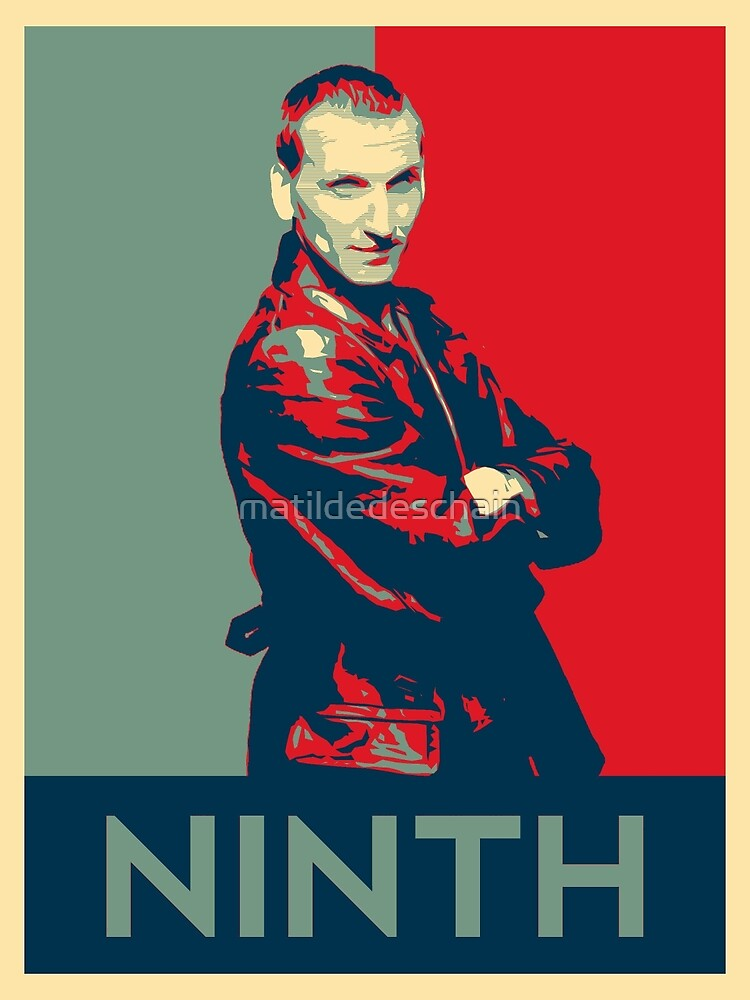 Ninth doctor - Fairey's style by matildedeschain