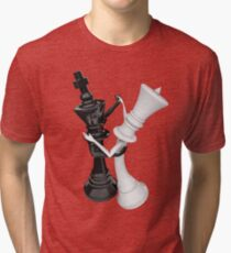 Chess dancers Tri-blend T-Shirt