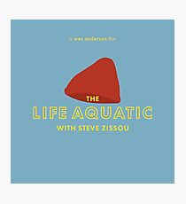 The Life Aquatic with Steve Zissou Beanie Poster Photographic Print