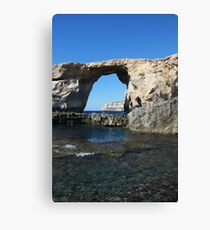 Famous Gozo Arch Canvas Print