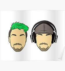 Jacksepticeye duo Poster