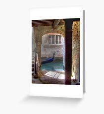 Venetian Arch  Greeting Card