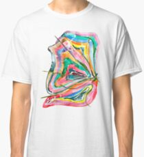 Unknown Butterfly - Small Abstract Landscape, watercolor, ink & pencil on paper Classic T-Shirt