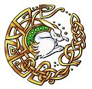 Celtic Hare by Rose Gerard