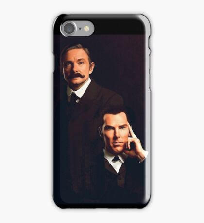 Mr Holmes and Dr Watson iPhone Case/Skin