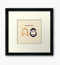The Royal Tenenbaums, Margot, & Richie Framed Print