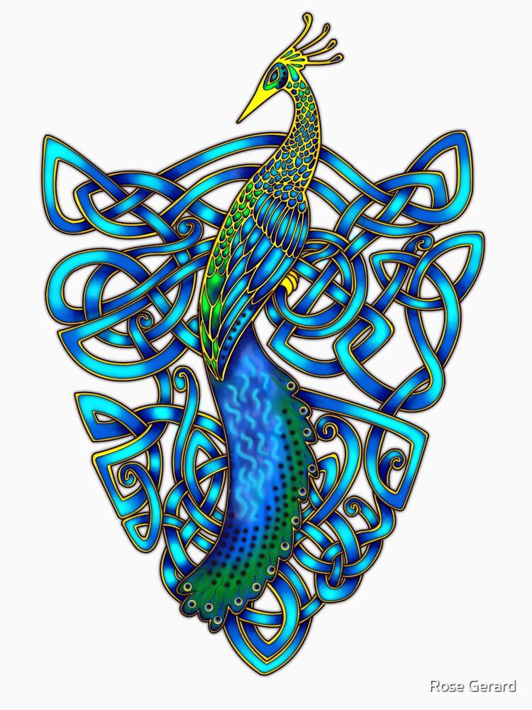 Peacock by arkadyrose