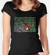Paganini Violin Women's Fitted Scoop T-Shirt