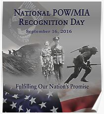 2016 POW Remembrance Day Official Poster Poster