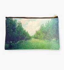 Apple Orchard in Spring Studio Pouch