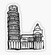 Pisa Italy Sticker