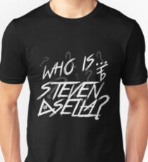 Broken Pixel - Who Is Steven Sella? Unisex T-Shirt