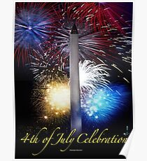 Fourth of July in D. C. Poster