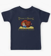 Trump and Smaug: An Unexpected Friendship Kids Tee
