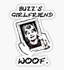 Home Alone: Buzz's Girlfriend Sticker