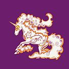 Rapidash Pokemuerto | Pokemon & Day of The Dead Mashup by abowersock