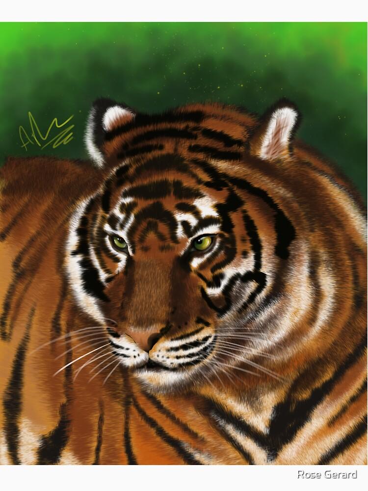 Tiger by arkadyrose