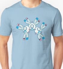 Magneton Pokemuerto | Pokemon & Day of The Dead Mashup T-Shirt