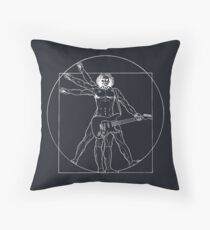 Vetruvian Rock Star Throw Pillow