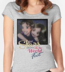 The Stars above us.. Women's Fitted Scoop T-Shirt