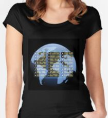 IT company Emblem Women's Fitted Scoop T-Shirt