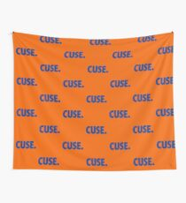 CUSE - BLUE Wall Tapestry