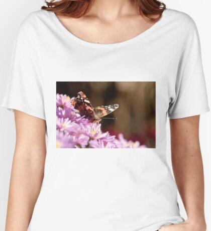 Autumn butterfly Women's Relaxed Fit T-Shirt
