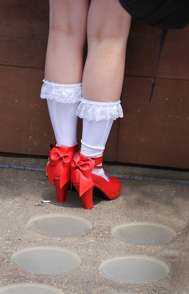 Red Shoes by Samantha Jones