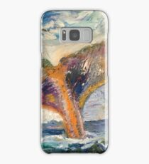 Whale Tail Colorful Samsung Galaxy Case/Skin