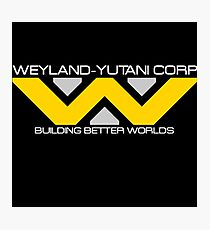 Weyland - Yutani Corporation Photographic Print