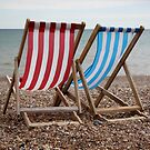 Unoccupied Deckchairs by Samantha Jones
