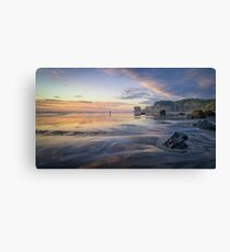 Solitude at Maori Bay Canvas Print