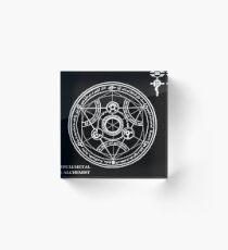Fullmetal Alchemist - Transmutation Circle Acrylic Block