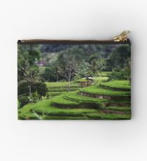 A Balinese Rice Field Studio Pouch