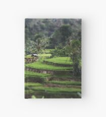 A Balinese Rice Field Hardcover Journal