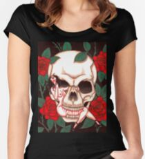 Chasing Death - Act I Women's Fitted Scoop T-Shirt