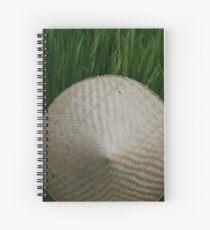 Rice Hat Spiral Notebook
