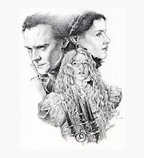 Beware of Crimson Peak Photographic Print