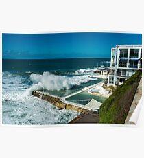 Icebergs Swimming Club Bondi Beach Poster