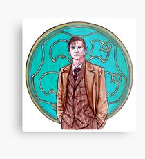 .10th Doctor. Metal Print